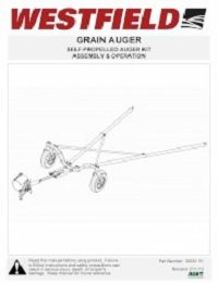 Self-Propelled Auger Kit Assembly & Operation