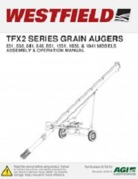 TFX2 Augers Assembly & Operation