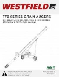 TFX Augers Assembly & Operation