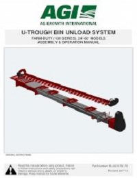 U-Trough Bin Unload (Farm-Duty, 100 Series) Assembly & Operation