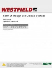 Farm U-Trough Bin Unload System – Operation