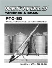 WR PTO-SD Auger - Assembly & Operation (French)