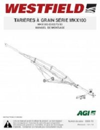 MKX100 Auger - Assembly (French)