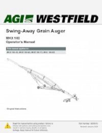 MKX100 Swing Away Grain Auger - Operation (English)