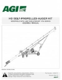 STX2 Heavy-Duty Self-Propelled Auger Kit - Assembly