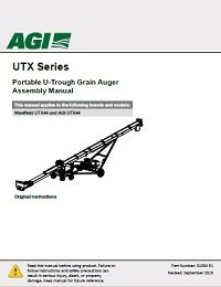 UTX Auger – Assembly