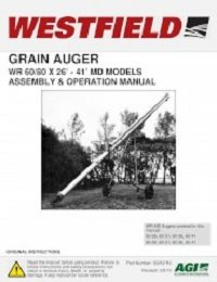 WR MD Auger - Assembly & Operation