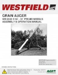 WR PTO-BD Auger - Assembly & Operation