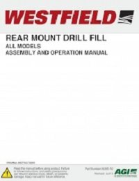 Rear Mount Drill Fill - Assembly & Operation