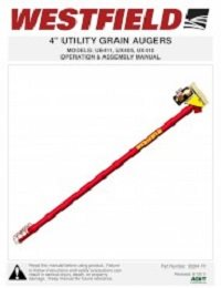 "Utility Auger 4"" - Assembly & Operation"