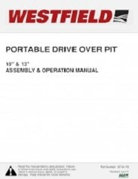 Portable Drive Over Pit - Assembly & Operation