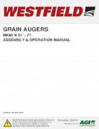 MK80 (51-71ft) Auger - Assembly & Operation