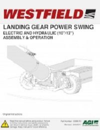 "Landing Gear PowerSwing Kit (10"" & 13"") - Assembly & Operation"