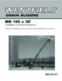 MK100 (36ft) Auger - Assembly & Operation