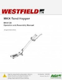 MKX130 MKX-Tend Hopper - Assembly & Operation