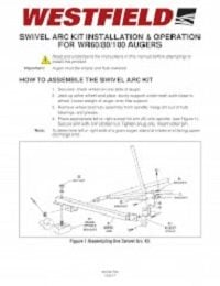 WR Swivel Arc Kit - Installation & Operation