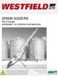 WR PTO-SD Auger - Assembly & Operation