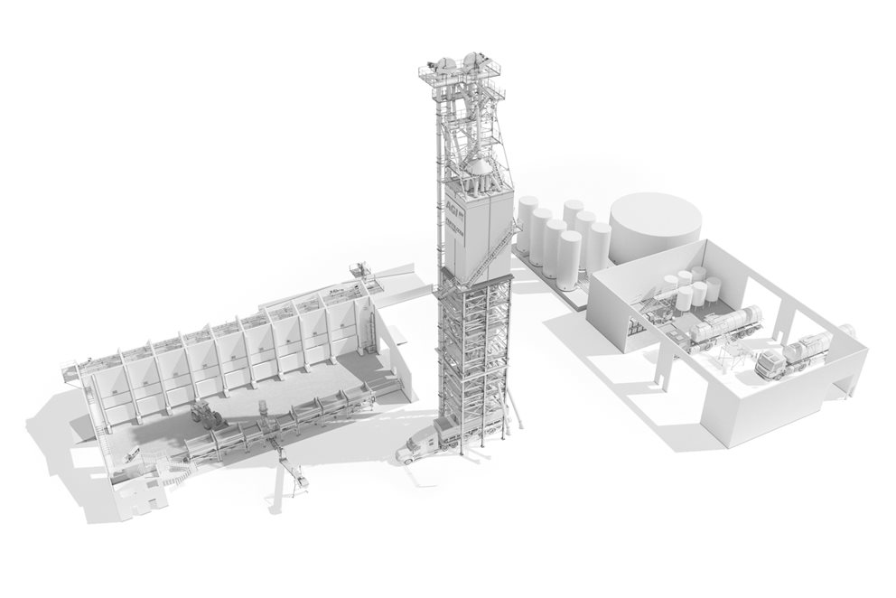 Equipment and solutions for bulk fertilizer and industrial material handling, from engineering and design to manufacturing and installation. Image