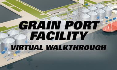 Commercial Grain Port Facility