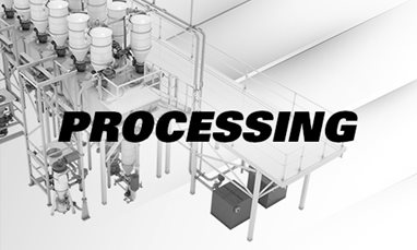 Processing solutions for raw materials to suit your operation